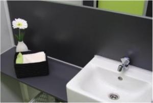 Toilettenwagen Interieur