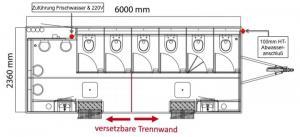 Toilettenwagen Skizze 2